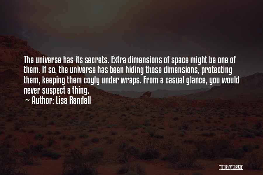 Randall Quotes By Lisa Randall