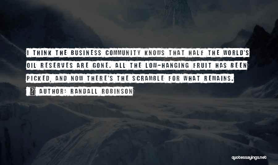 Randall Robinson Quotes 1118138