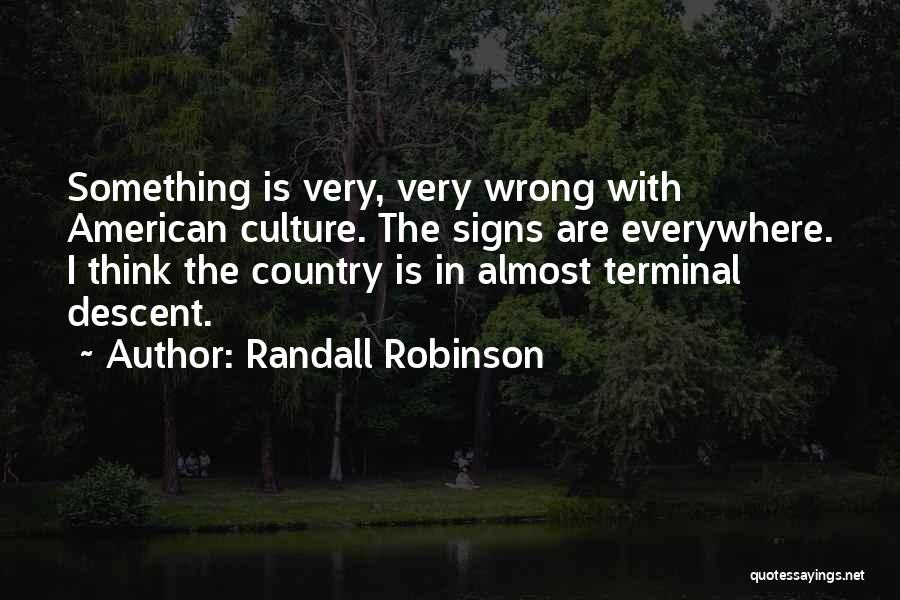 Randall Robinson Quotes 1767616