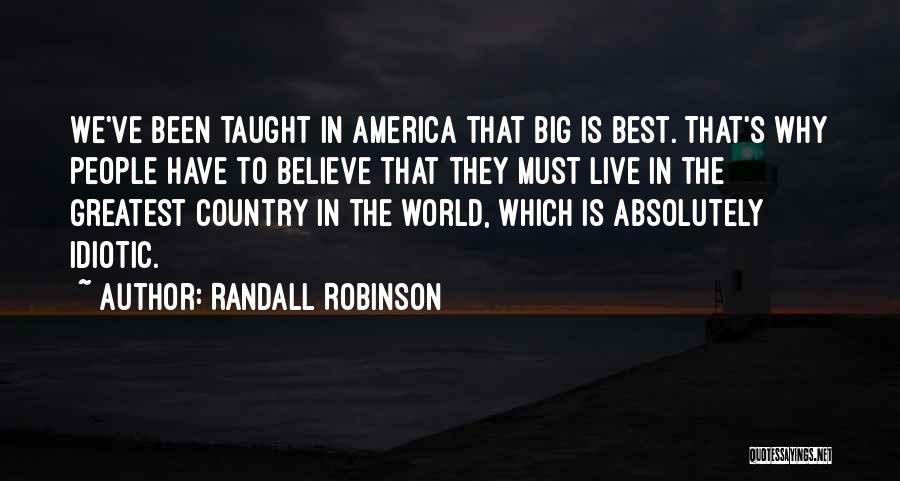 Randall Robinson Quotes 1977400