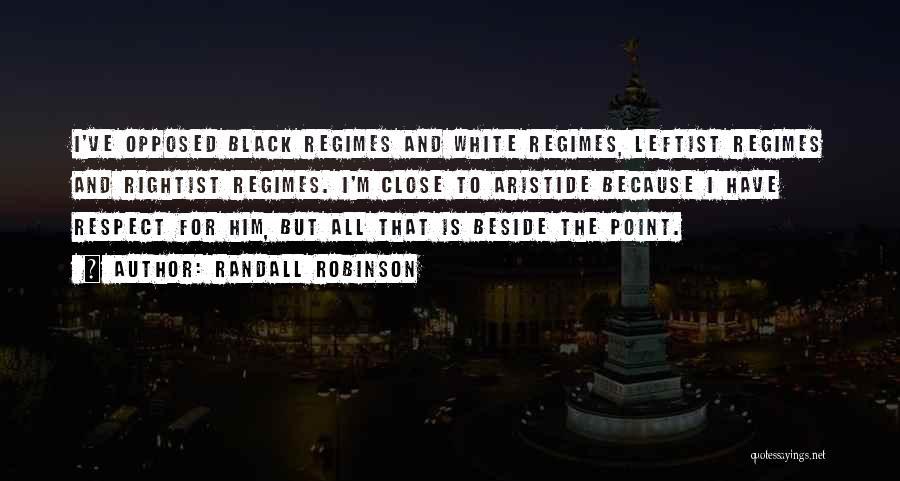 Randall Robinson Quotes 240996