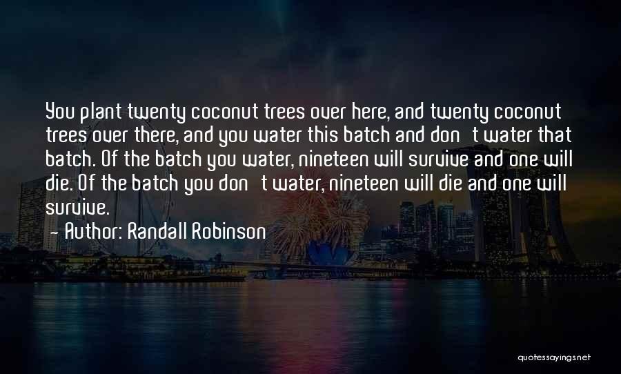 Randall Robinson Quotes 257324