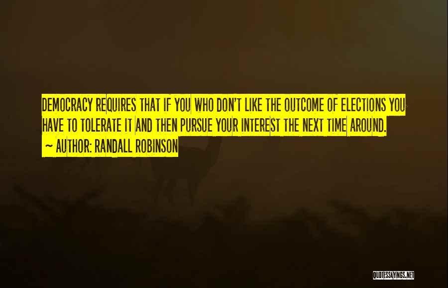 Randall Robinson Quotes 733857