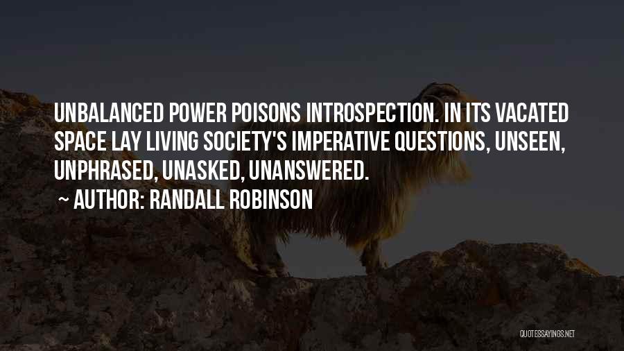 Randall Robinson Quotes 885060
