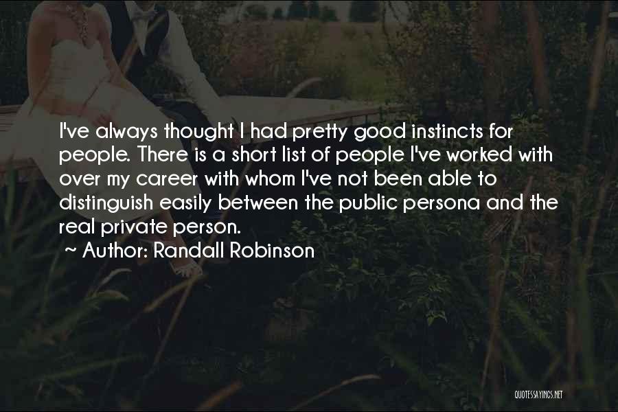 Randall Robinson Quotes 910118