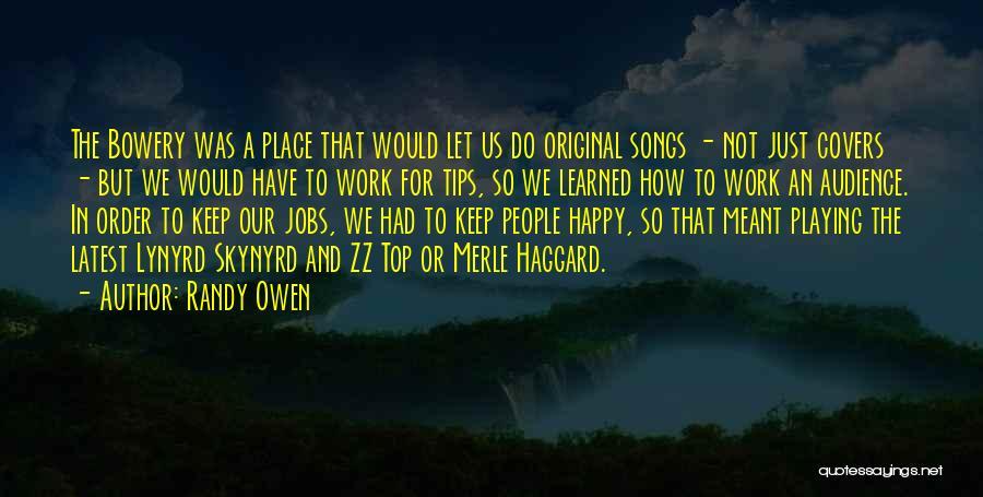 Randy Owen Quotes 945861