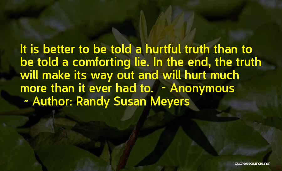 Randy Susan Meyers Quotes 1791360