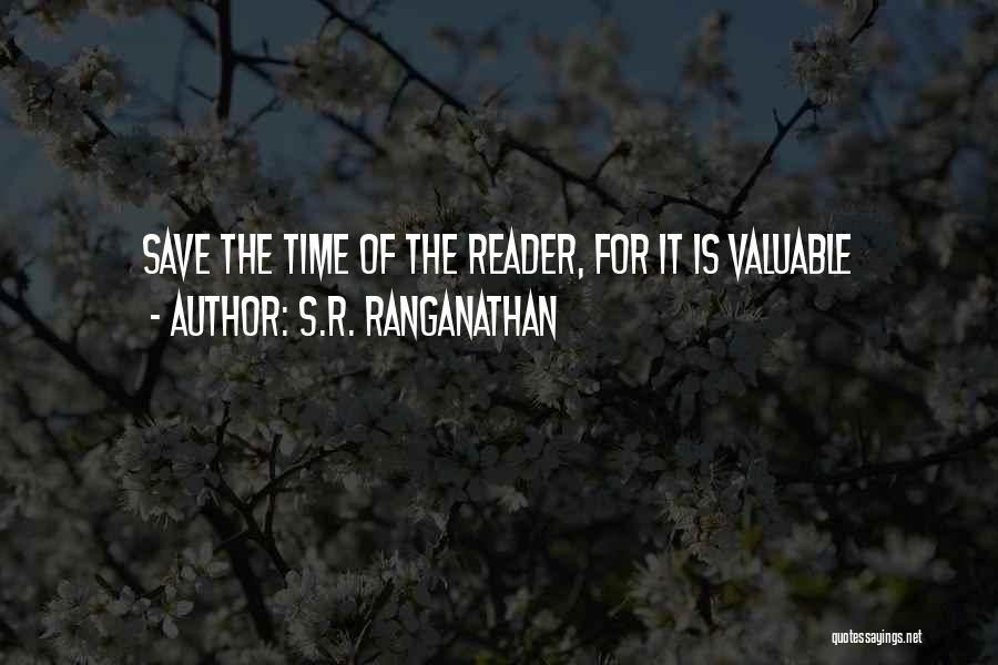 Ranganathan Quotes By S.R. Ranganathan