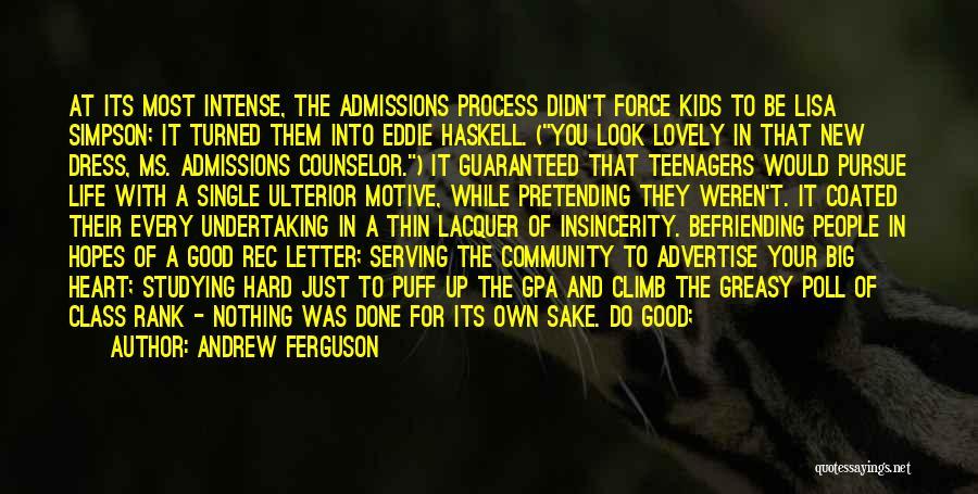 Rank Quotes By Andrew Ferguson