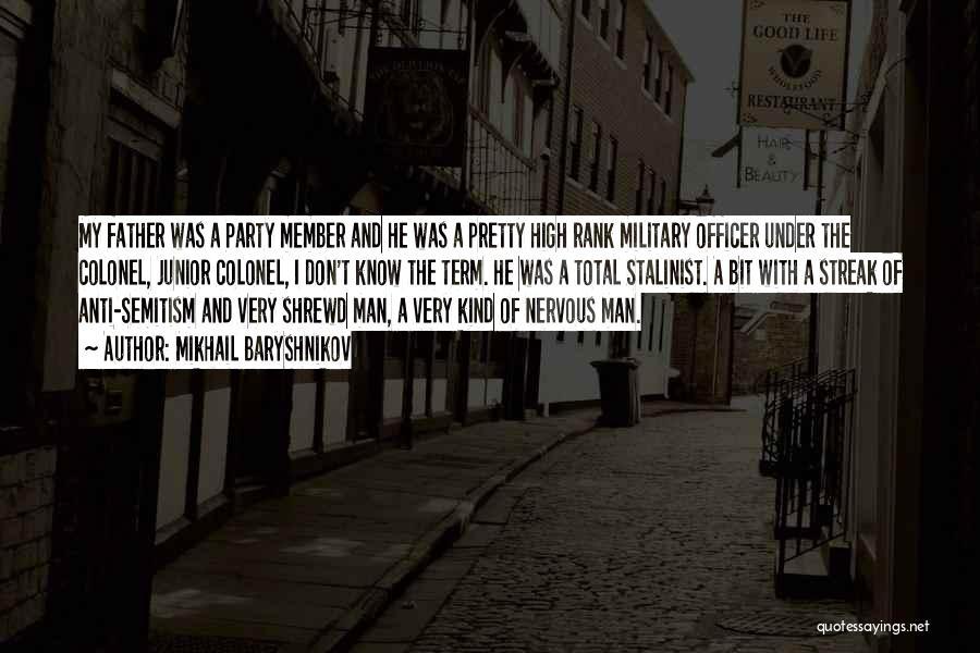 Rank Quotes By Mikhail Baryshnikov