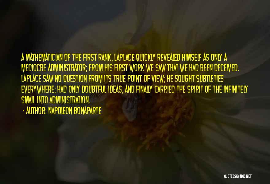 Rank Quotes By Napoleon Bonaparte