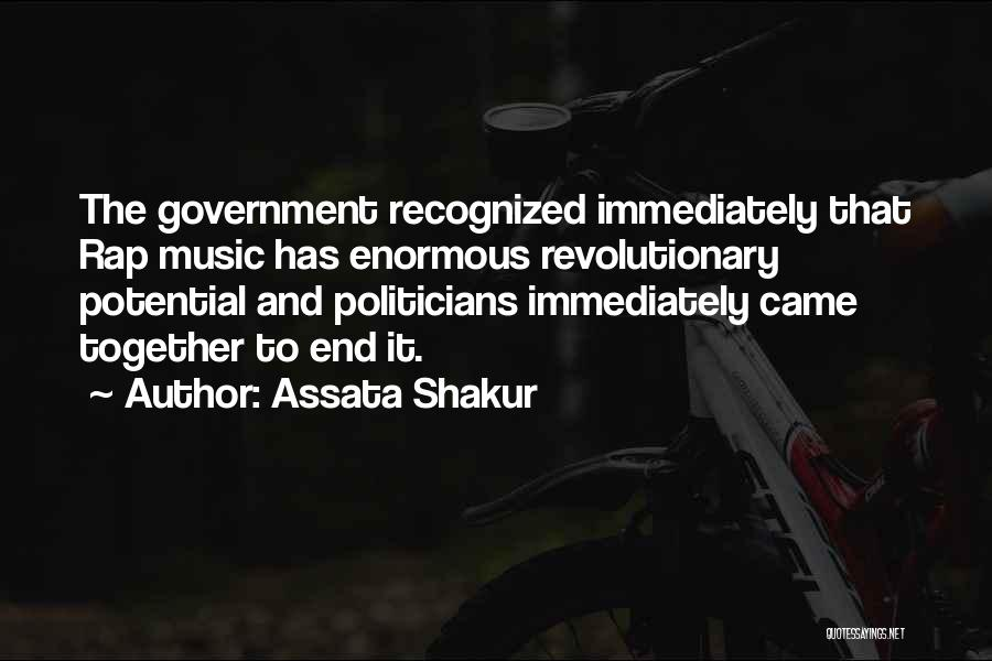 Rap Music Quotes By Assata Shakur
