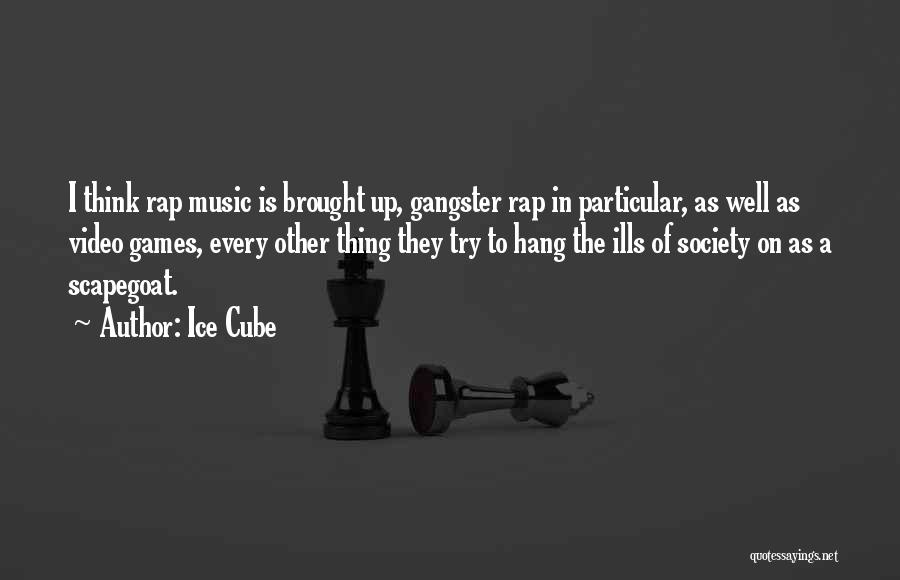 Rap Music Quotes By Ice Cube