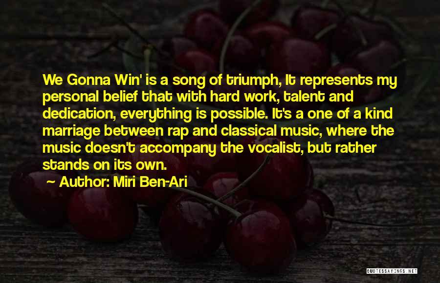Rap Music Quotes By Miri Ben-Ari