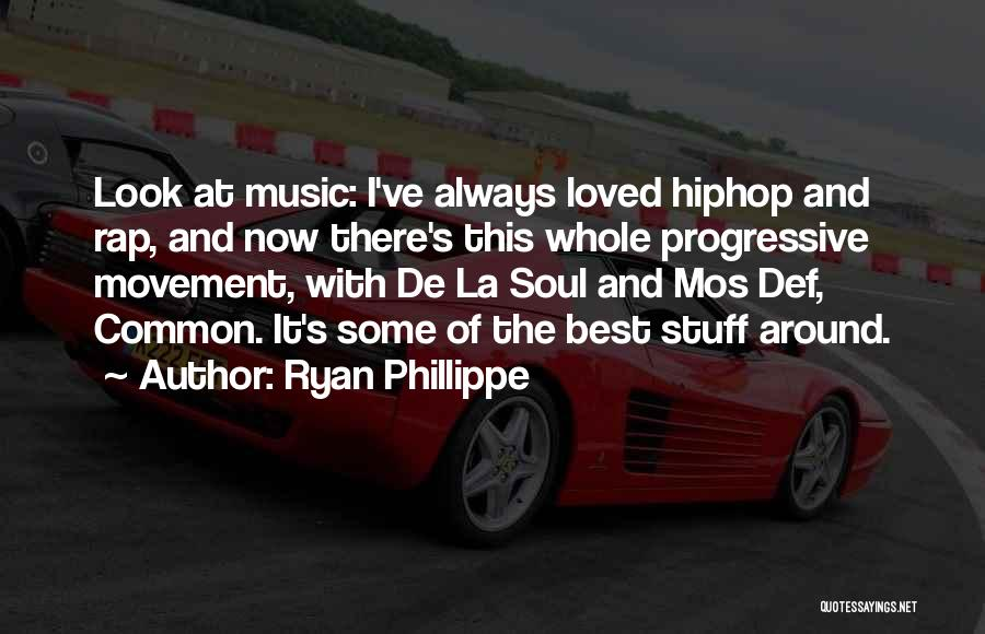 Rap Music Quotes By Ryan Phillippe
