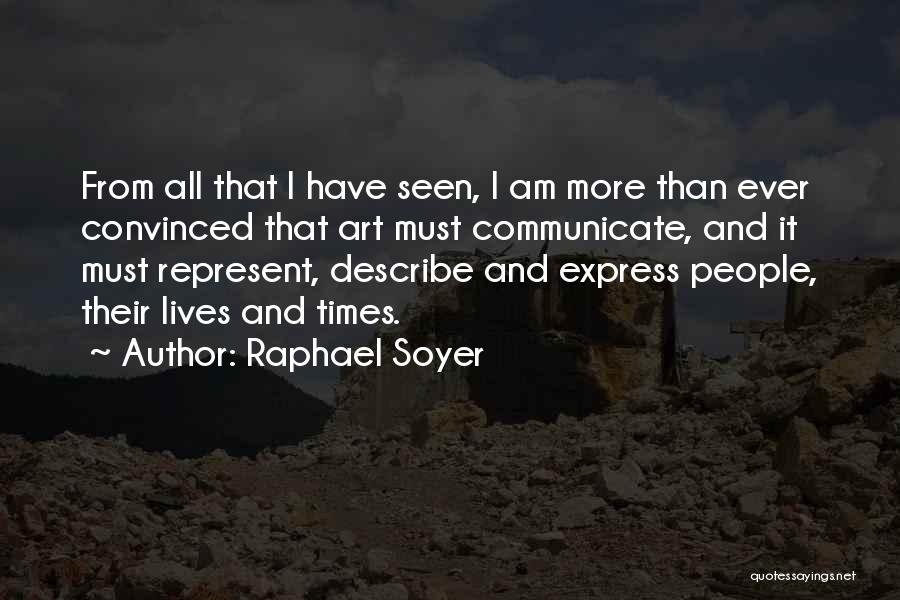 Raphael Soyer Quotes 1042189