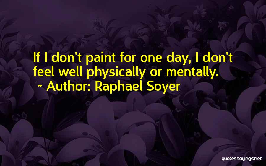 Raphael Soyer Quotes 282144