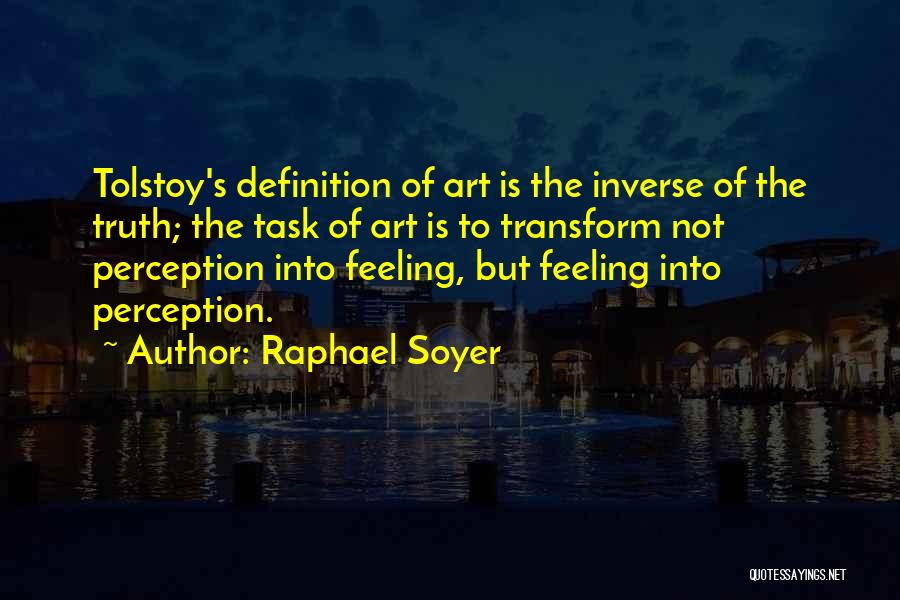 Raphael Soyer Quotes 301370