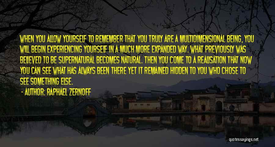 Raphael Zernoff Quotes 451015