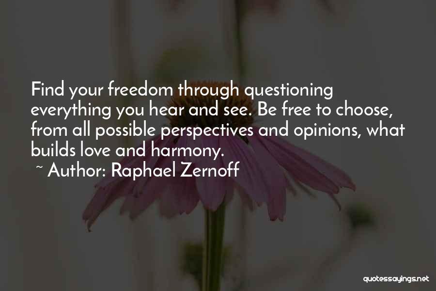 Raphael Zernoff Quotes 464986