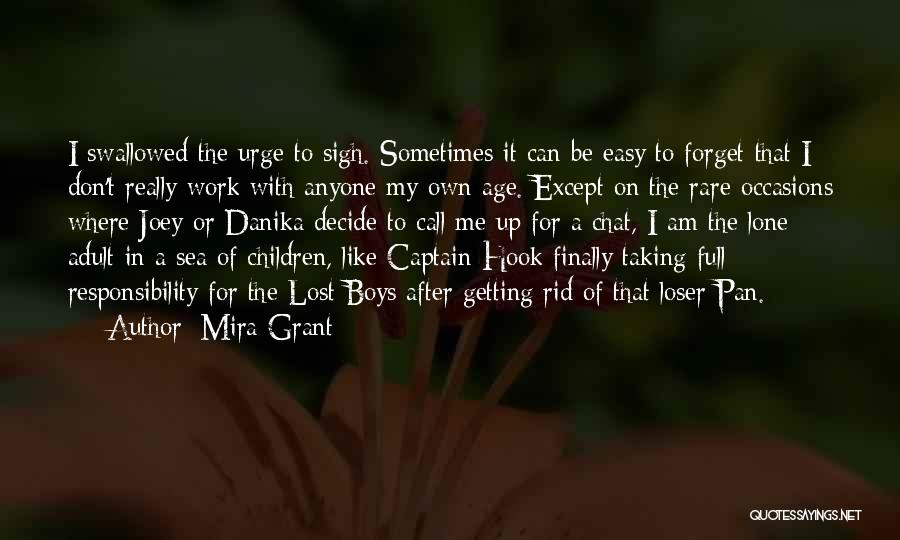 Rare Occasions Quotes By Mira Grant