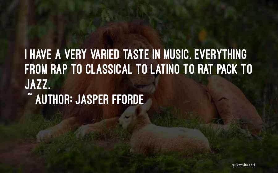 Rat Pack Quotes By Jasper Fforde