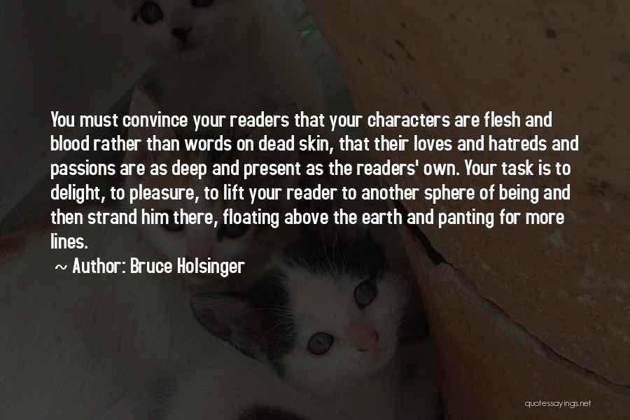 Rather Being Dead Quotes By Bruce Holsinger