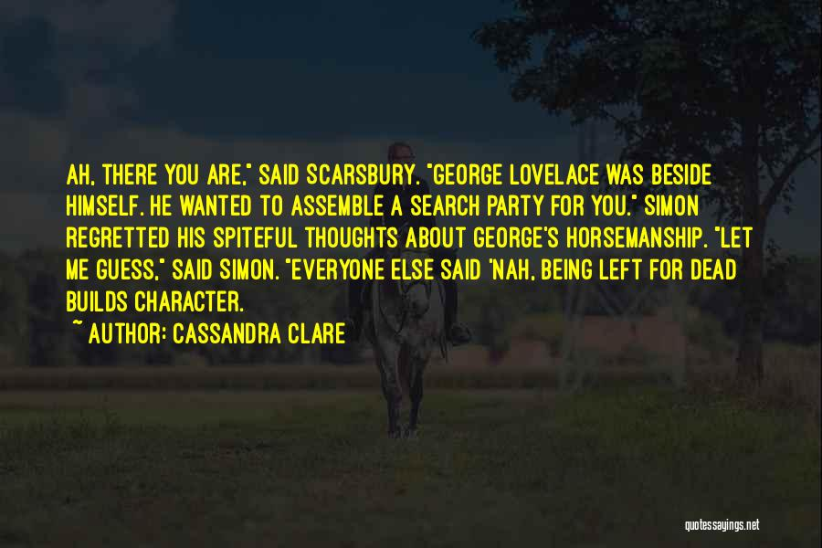 Rather Being Dead Quotes By Cassandra Clare