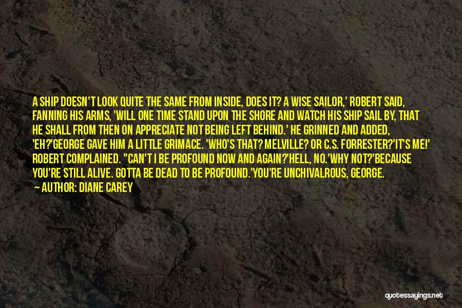 Rather Being Dead Quotes By Diane Carey