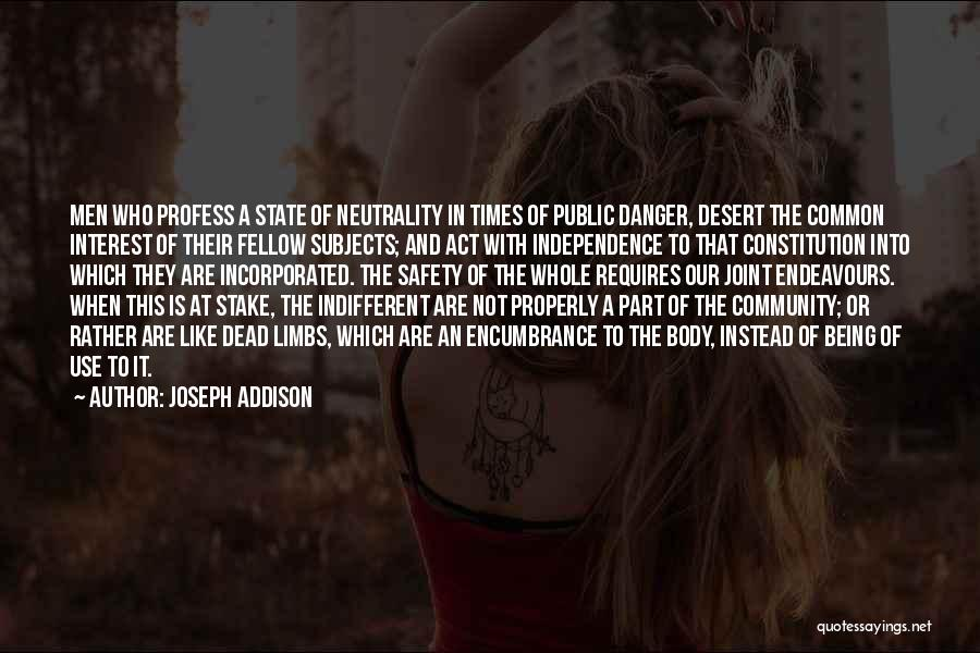 Rather Being Dead Quotes By Joseph Addison