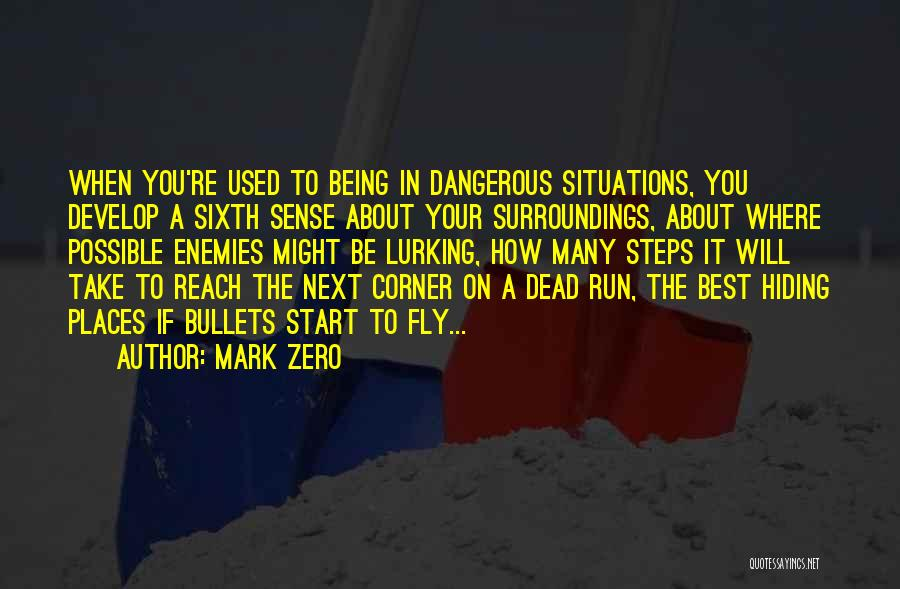 Rather Being Dead Quotes By Mark Zero