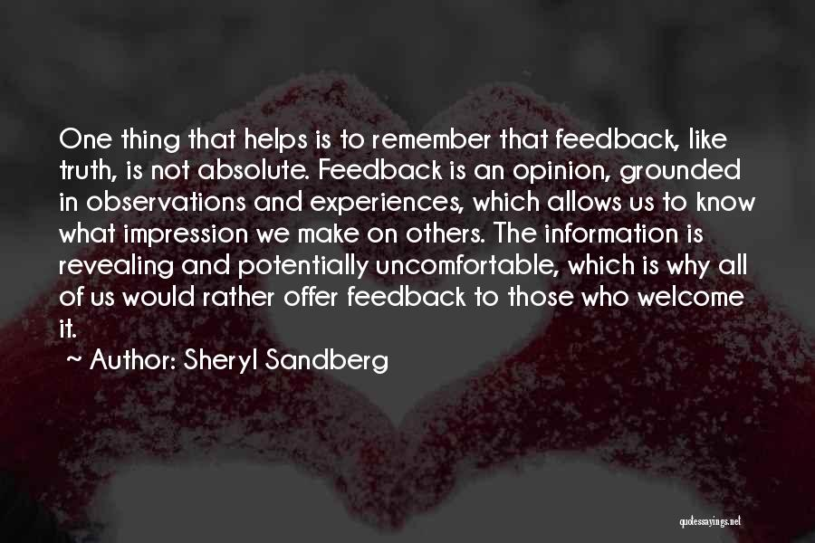 Rather Know The Truth Quotes By Sheryl Sandberg