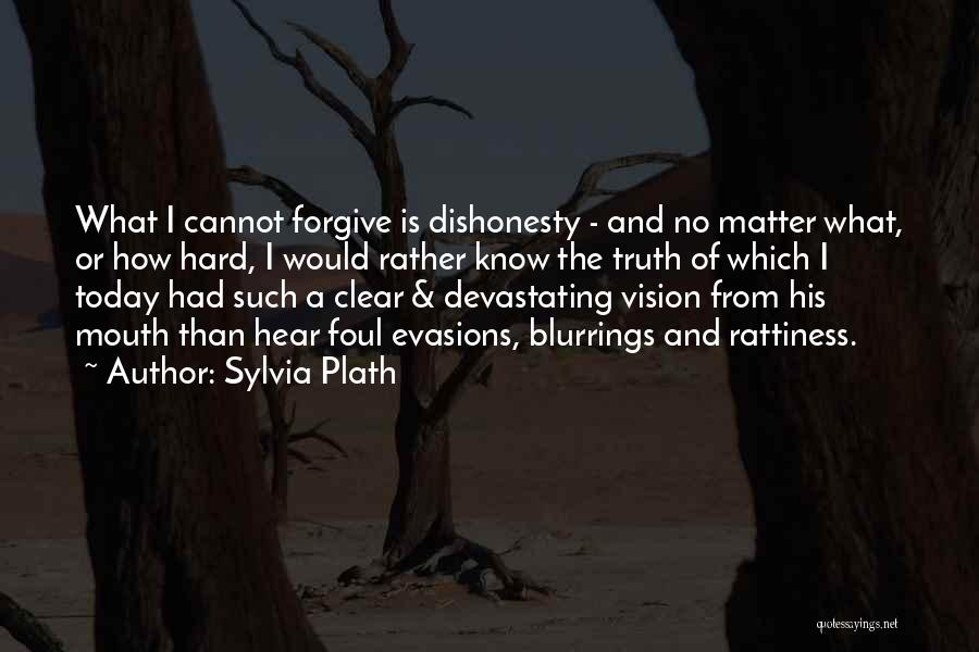 Rather Know The Truth Quotes By Sylvia Plath