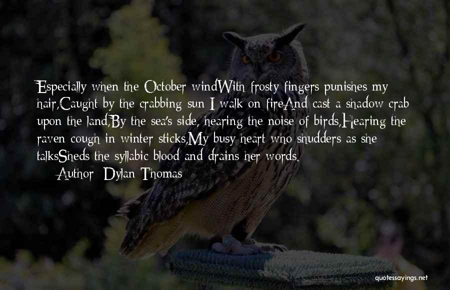 Raven Birds Quotes By Dylan Thomas
