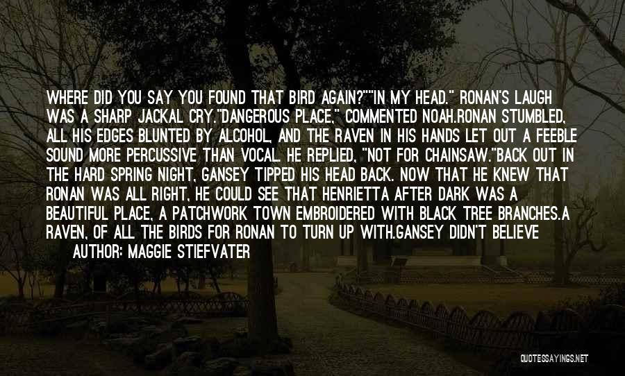 Raven Birds Quotes By Maggie Stiefvater