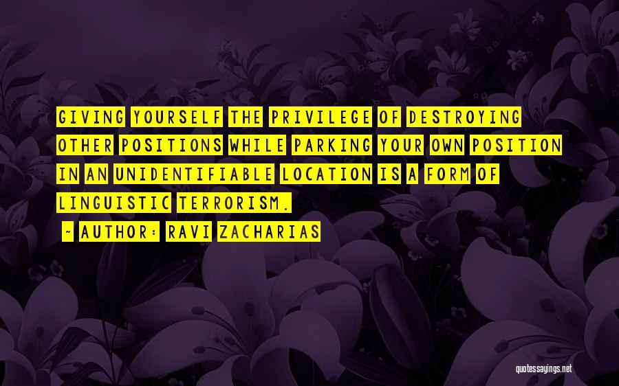 Ravi Zacharias Quotes 1645742