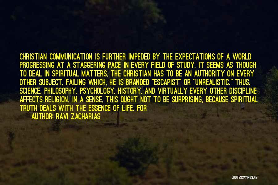 Ravi Zacharias Quotes 1923602