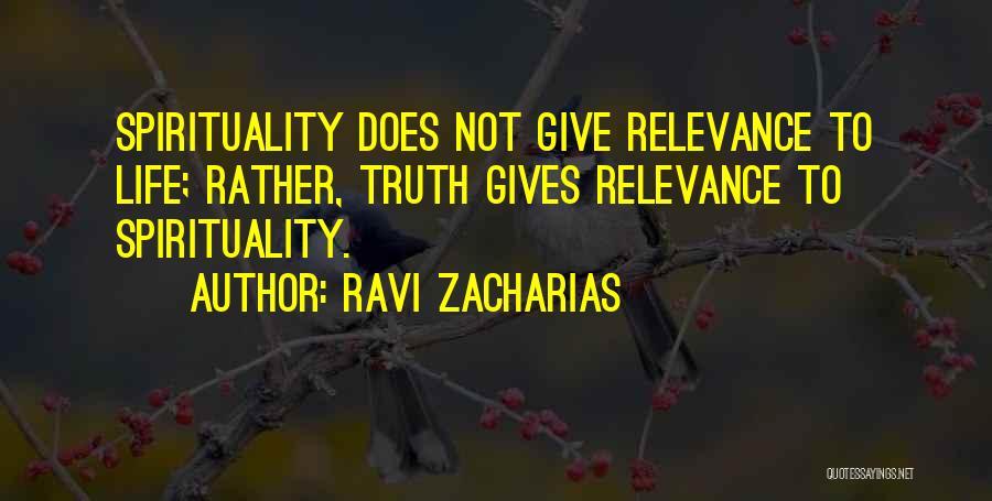Ravi Zacharias Quotes 805630