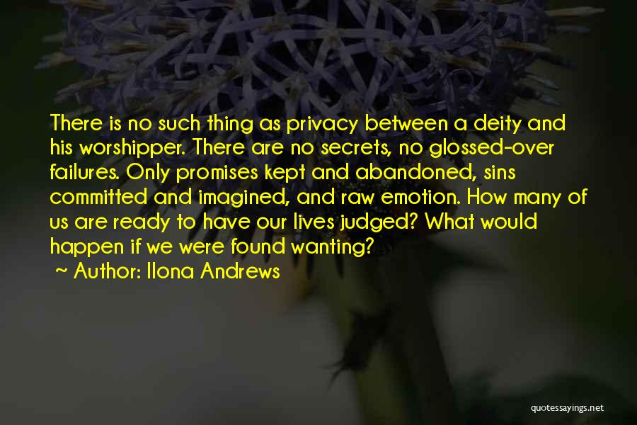 Raw Emotion Quotes By Ilona Andrews