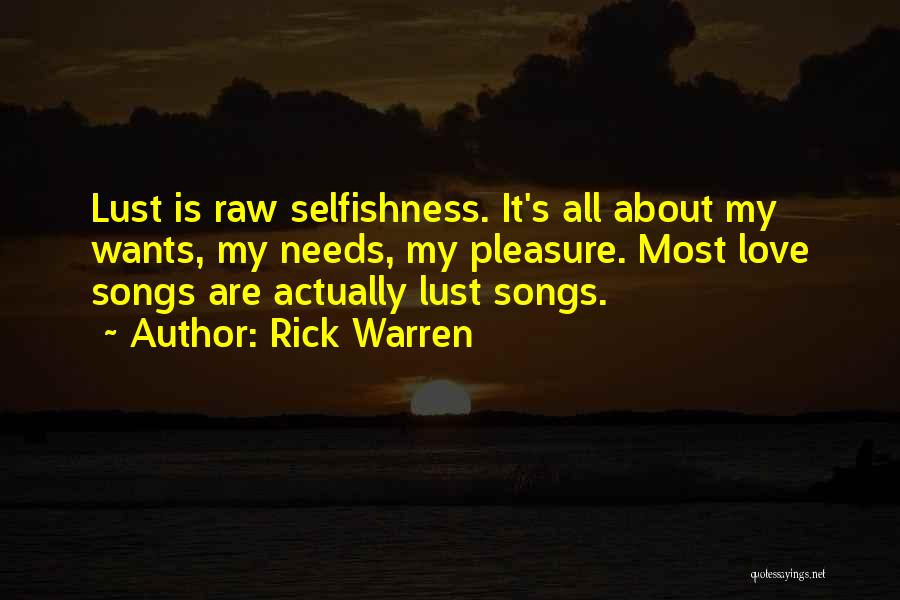 Raw Love Quotes By Rick Warren