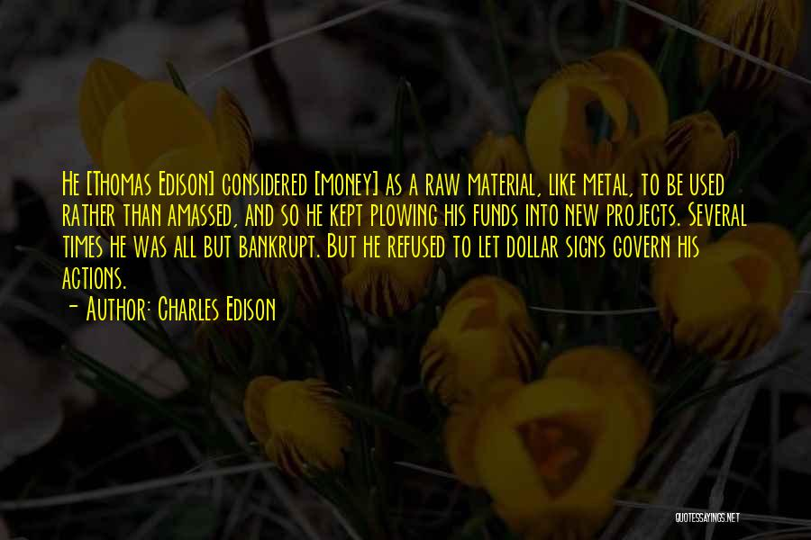 Raw Quotes By Charles Edison