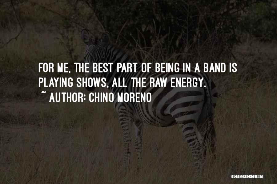 Raw Quotes By Chino Moreno