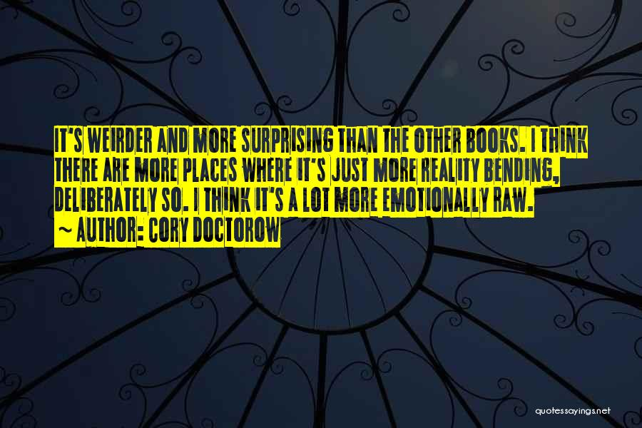 Raw Quotes By Cory Doctorow