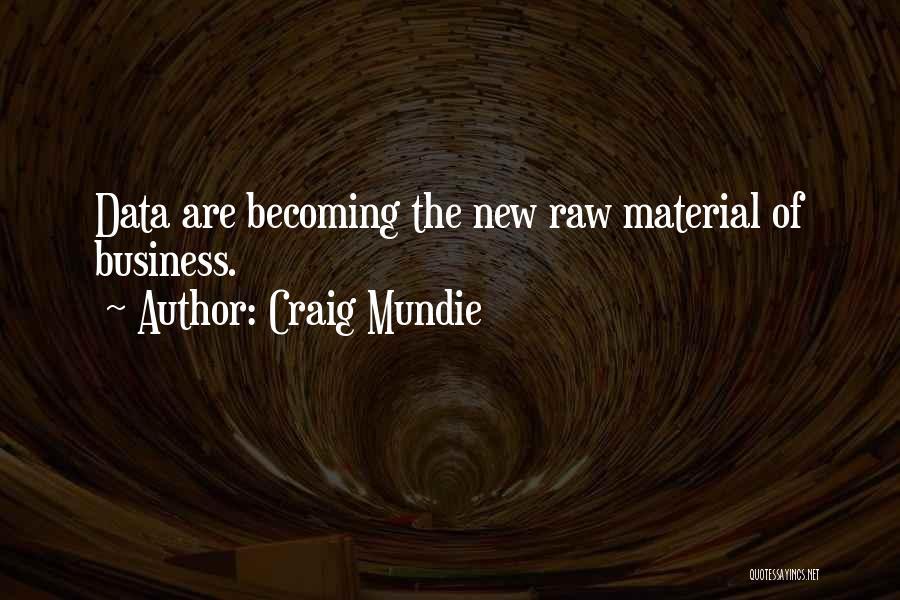 Raw Quotes By Craig Mundie