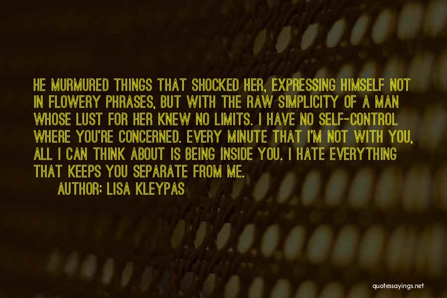 Raw Quotes By Lisa Kleypas