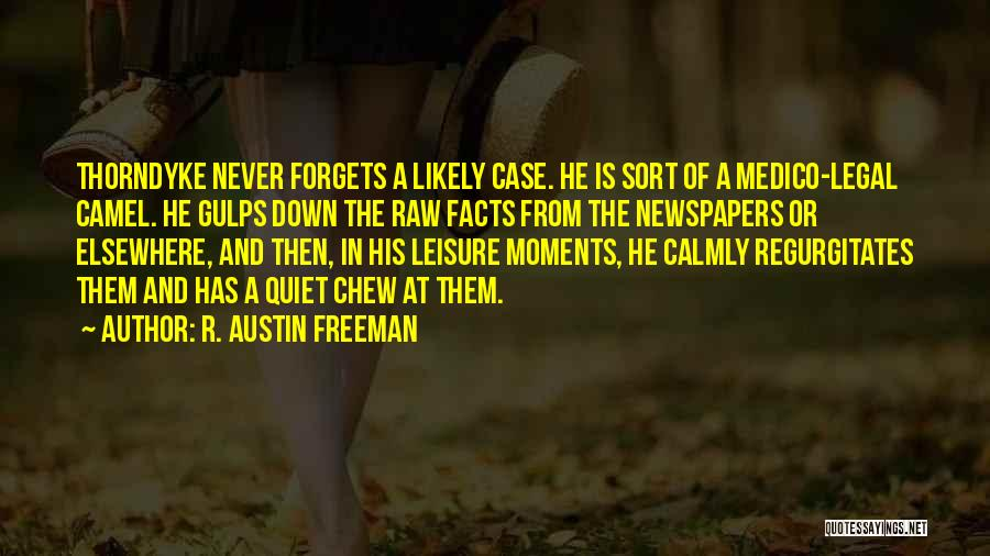 Raw Quotes By R. Austin Freeman
