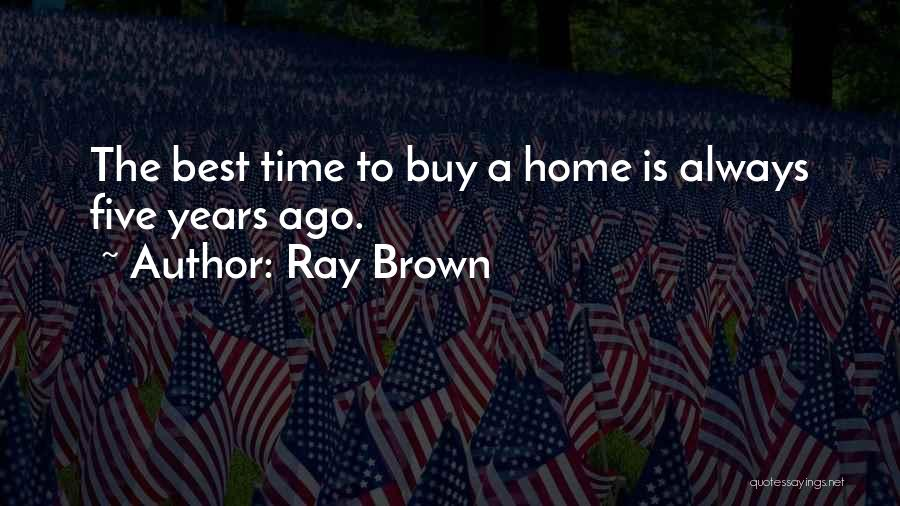 Ray Brown Quotes 611886