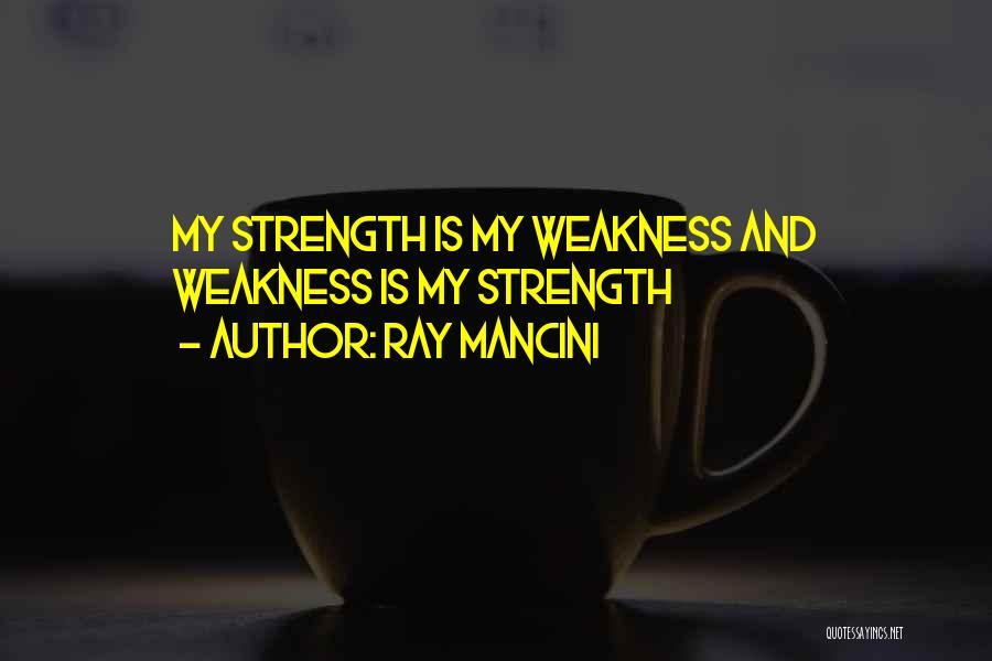Ray Mancini Quotes 731679