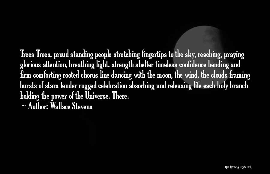 Reaching The Moon Quotes By Wallace Stevens