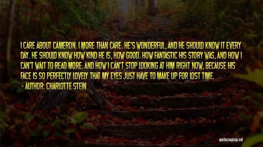 Read Eyes Quotes By Charlotte Stein